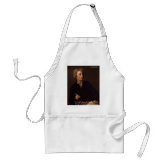 """Alexander Pope """"To Err Human"""" Wisdom Quote Gifts Standard Apron"""