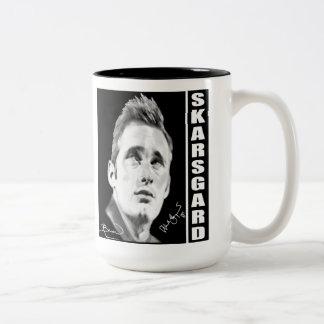 Alexander Skarsgard By Kristin Bauer Two-Tone Coffee Mug