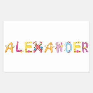 Alexander Sticker