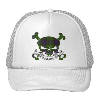 Alexander Tartan Skull Hat
