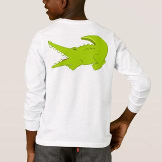 Alexander the Alligator Long Sleeve Cotton T Shirt