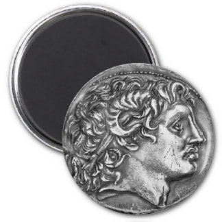 Alexander the Great 2 Inch Round Magnet