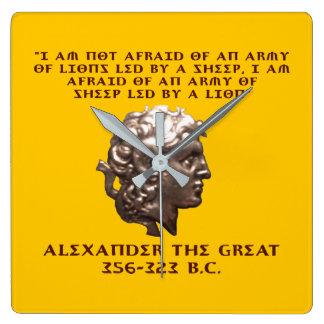 Alexander the Great Clock