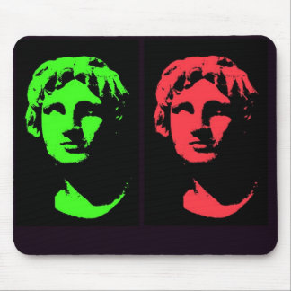 Alexander the Great Collage Mouse Pad