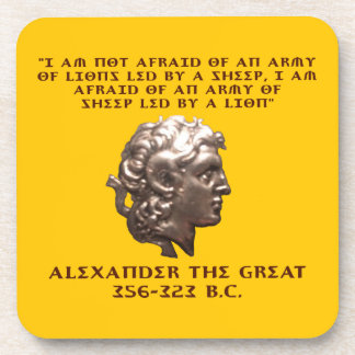 Alexander the Great Drink Coaster