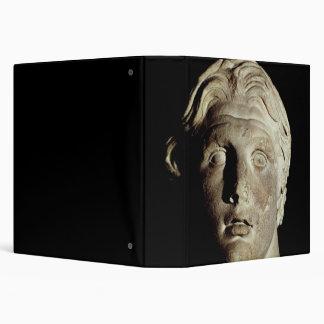 Alexander the Great , found in Pergamum 3 Ring Binders