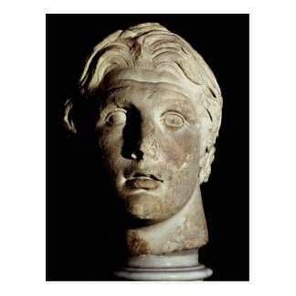 Alexander the Great , found in Pergamum Postcard