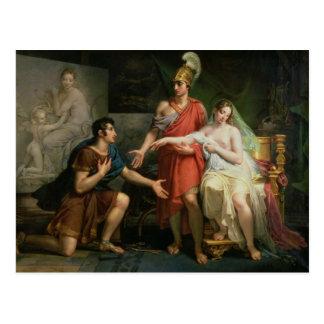Alexander the Great  Hands Over Campaspe Postcard