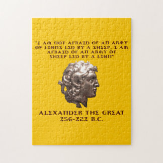 Alexander the Great Jigsaw Puzzle
