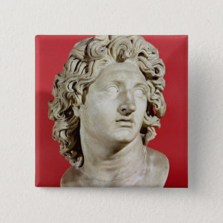 Alexander the Great  King of Macedonia 2 Inch Square Button