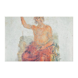Alexander the Great, possibly as Zeus Canvas Print