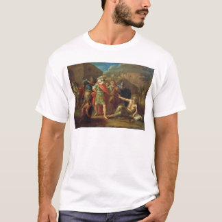 Alexander the Great visits Diogenes at Corinth T-Shirt
