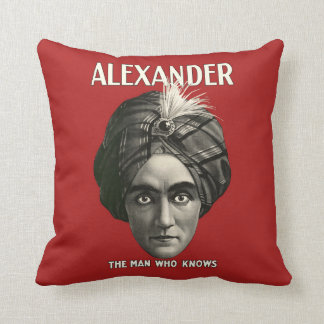 Alexander The Man Who Knows - Pillow