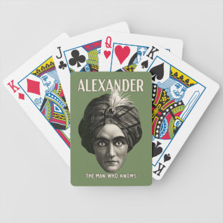 Alexander - The Man Who Knows - Playing Cards