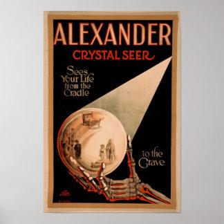 ALEXANDER THE SEER VINTAGE POSTER