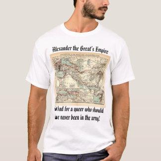 ALEXANDER'S EMPIRE, Alexander the Great's Empir... T-Shirt