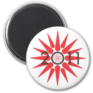 Alexander's Sun 2 Inch Round Magnet