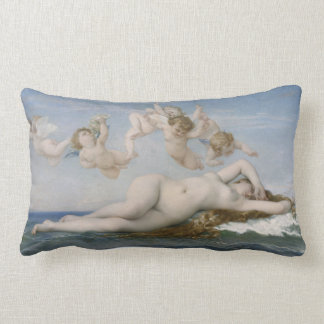 Alexandre Cabanel The Birth of Venus Lumbar Pillow
