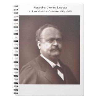 Alexandre Charles lecocq 1880 Spiral Notebook