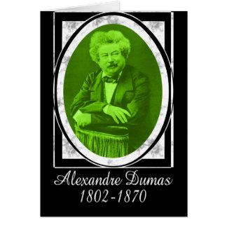 Alexandre Dumas Card