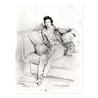 Alexandre Dumas Pere Postcard