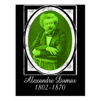 Alexandre Dumas Postcard