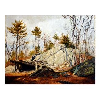 Alexandre Rachmiel Autumn Landscape Postcard