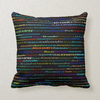 Alexandre Text Design I Throw Pillow