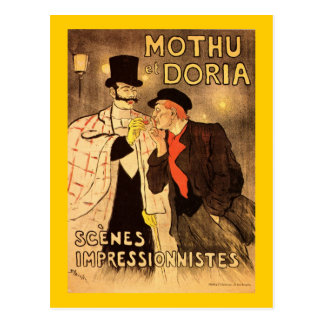 Alexandre Theophile Steinlen Mothu et Doria Postcard
