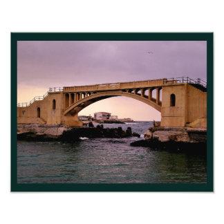 Alexandria Bridge Art Photo
