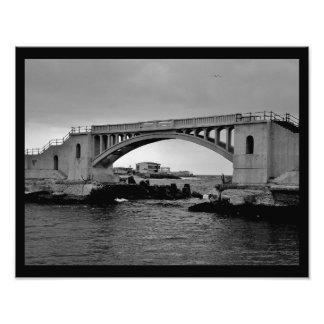 Alexandria Bridge Photograph