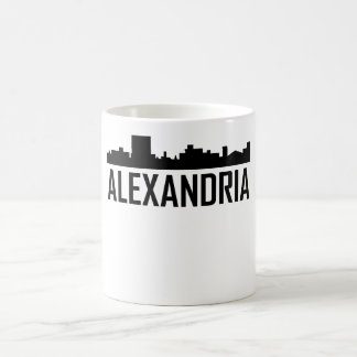 Alexandria Louisiana City Skyline Coffee Mug