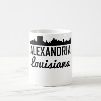 Alexandria Louisiana Skyline Coffee Mug
