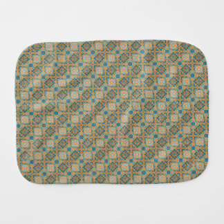 Alexandria Tiles Burp Cloth