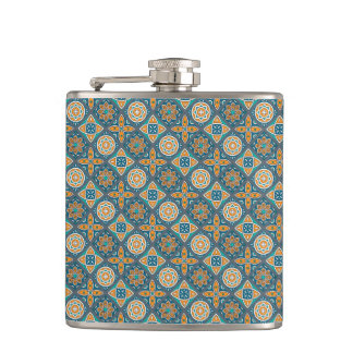 Alexandria Tiles Hip Flask