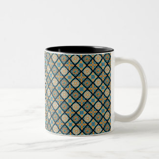 Alexandria Tiles Two-Tone Coffee Mug
