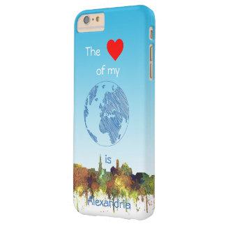 Alexandria, Viirginia Skyline - SG - Safari Buff Barely There iPhone 6 Plus Case