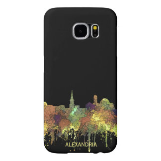 Alexandria, Viirginia Skyline - SG - Safari Buff Samsung Galaxy S6 Cases