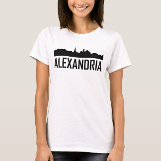 Alexandria Virginia City Skyline T-Shirt