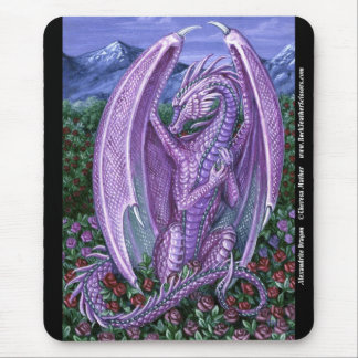 Alexandrite Dragon Mousepad