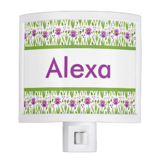 Alexa's Personalized Iris  Night Light