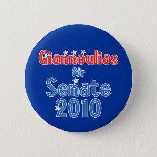 Alexi Giannoulias for Senate 2010 Star Design 2 Inch Round Button