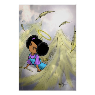 Alexis Angel Wings POSTER