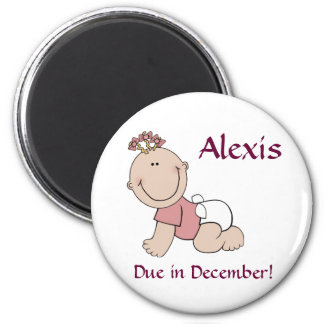 Alexis Baby Girl Magnet