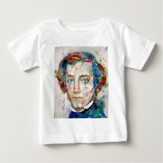 alexis de tocqueville - watercolor portrait baby T-Shirt