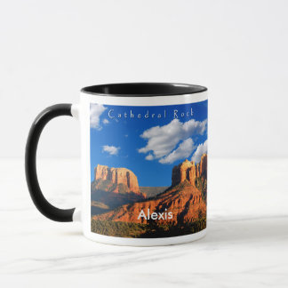 Alexis on Cathedral Rock and Courthouse Mug