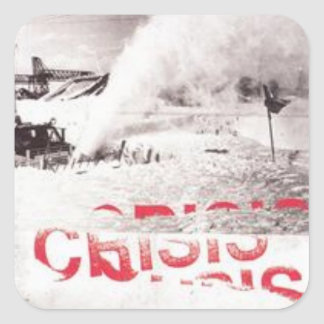 Alexisonfire - Crisis Album Cover 2 Sticker
