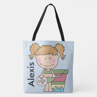 Alexis's Personalized Beach Tote