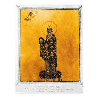 Alexius I Comnenus , Byzantine emperor 2 Postcard