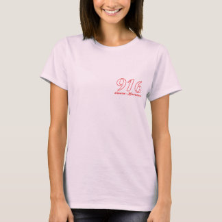 Alfa 916 Sporting Heart Ladies fitted T-shirt